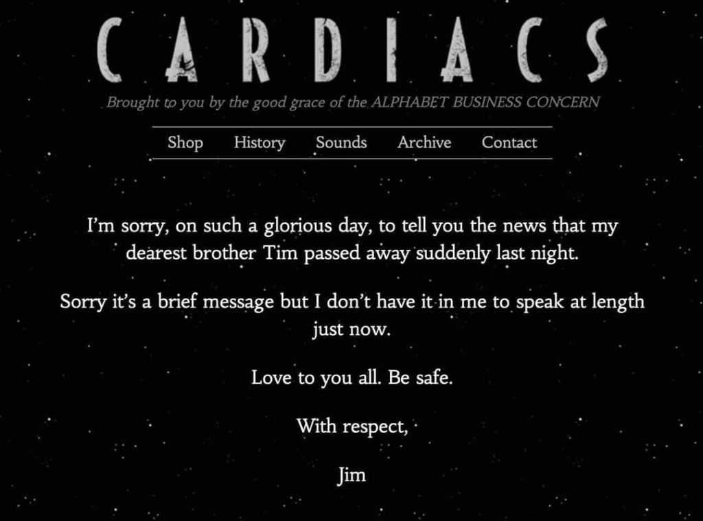 about tim from jim smith